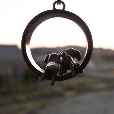 Dog Afternoon Necklace
